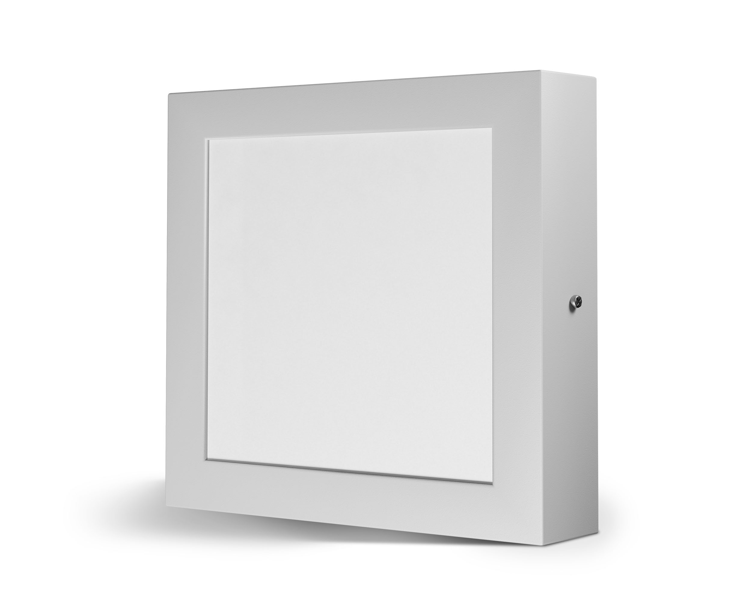 Plafon Led 12w 15×15 Quadrado 6500k Sobrepor Spotlux Elmig